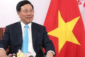 CLIP: Phó Thủ tướng, Bộ trưởng Ngoại giao Phạm Bình Minh tự hào khi theo dõi đội tuyển Việt Nam thi đấu