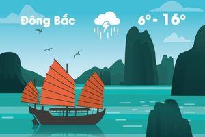 Thời tiết ngày 16/1: Đông Bắc Bộ giảm 10 độ C, Hà Nội rét
