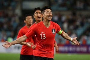 Son Heung-min có thể vắng mặt trong trận gặp Trung Quốc