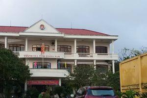 Phó Chánh thanh tra tỉnh Quảng Nam tử vong do rơi từ tầng 3 trụ sở