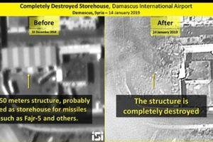 Thấy gì từ bằng chứng Israel tung ra sau không kích Syria?
