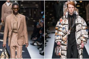 Fendi: Đàn ông lịch lãm không chỉ biết mặc suit!