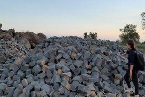 Gia Lai: Phát hiện thêm nhiều điểm khai thác đá trái phép