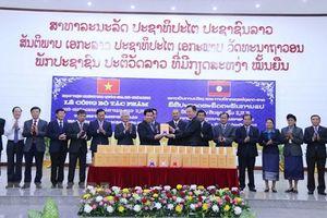Công bố tác phẩm Hồ Chí Minh toàn tập cuốn 5, 7, 8 bằng tiếng Lào