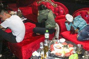 11 đối tượng dương tính với ma túy trong quán bar