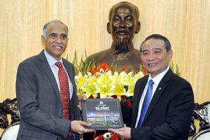 Bí thư Thành ủy Đà Nẵng Trương Quang Nghĩa tiếp lãnh đạo các cơ quan ngoại giao