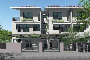 10 mẫu biệt thự song lập 3 tầng lên ngôi 2019