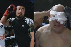 Võ sĩ MMA 40 tuổi Từ Hiểu Đông hạ đo ván cao thủ kungfu Trung Quốc
