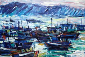 Tranh của các họa sĩ đương đại gây sốt ở thị trường trong nước