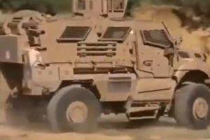 Algeria tiếp nhận xe trinh sát quân sự chống mìn của Mỹ