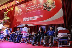 Hơn 1000 đoàn viên thanh niên Vĩnh Phúc hưởng ứng Chủ nhật Đỏ