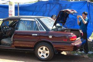 Công an Bình Phước thông tin về vụ xe ô tô nghi bị cài mìn