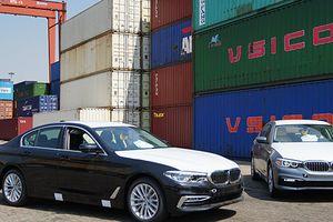 BMW Series 5 thế hệ mới xuất hiện tại cảng