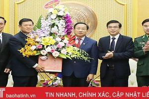 Vun đắp mối quan hệ hợp tác hữu nghị Hà Tĩnh - Bôlykhămxay