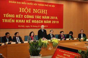 Tổng Bí thư, Chủ tịch nước dự tổng kết năm 2018 của Đoàn đại biểu Quốc hội TP Hà Nội