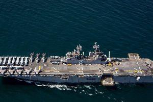 Tình hình Syria: 4.500 lính thủy đánh bộ Mỹ 'phục kích' Trung Đông