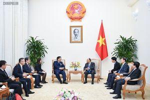 Thủ tướng mong muốn doanh nghiệp Nhật Bản tiêu thụ nhiều sản phẩm của Việt Nam