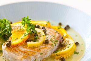 Cách làm cá hồi sốt cam tốt cho người bị tim mạch