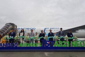 Bamboo Airways đón máy bay thế hệ mới A321neo đầu tiên
