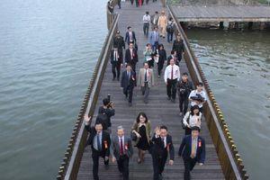 Cầu đi bộ lát gỗ lim sẽ 'kéo' khách Hàn Quốc đến Huế