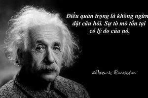 17 câu nói nổi tiếng của thiên tài vật lý Albert Einstein