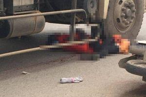 Đang trên đường đi làm, cô gái trẻ bị xe tải cán qua người tử vong