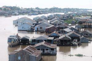 Yên bình những xóm bè vùng sông nước ở miền Tây