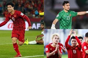 Điểm danh 18/23 cầu thủ ĐT Việt Nam đã ra sân thi đấu ở Asian Cup 2019
