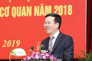 Ông Võ Văn Thưởng: Năm 2019, công tác tuyên giáo tiếp tục bám sát thực tiễn
