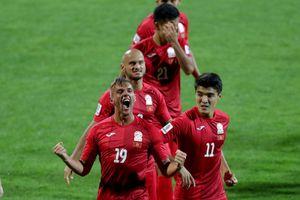 Đánh bại ĐT Philippines, ĐT Kyrgyzstan đứng thứ 3 tại bảng C