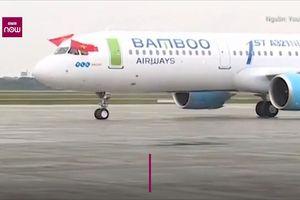 Bamboo Airways cất cánh chuyến bay thương mại đầu tiên