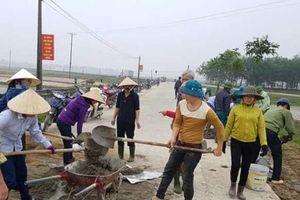 Thạch Hà đặt mục tiêu có thêm 8 xã đạt chuẩn nông thôn mới năm 2019