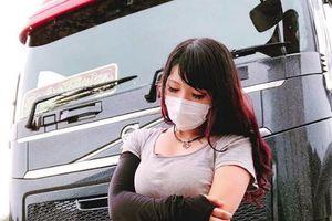 Cô gái bỗng nổi như cồn vì được mệnh danh là 'nữ tài xế xe tải xinh đẹp nhất Nhật Bản'