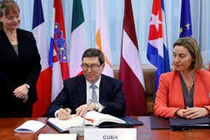 Cuba: Quan tâm thúc đẩy quan hệ với EU