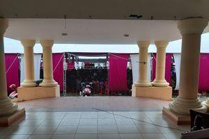 Phớt lờ chỉ đạo của Chủ tịch huyện, ngang nhiên tổ chức đám cưới tại sân UBND xã