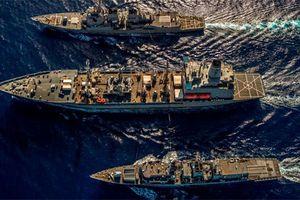 Mỹ - Anh hoàn tất 6 ngày phối hợp trên Biển Đông