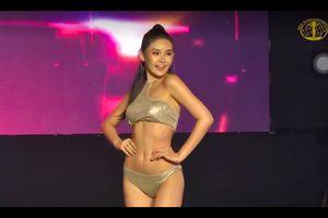 'Sốc' trước thân hình của thí sinh Hoa hậu Liên lục địa 2018