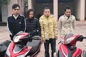 Trộm xe máy liên tỉnh Nghệ An – Hà Tĩnh để 'chơi' ma túy