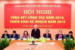 Tổng Bí thư, Chủ tịch nước Nguyễn Phú Trọng dự Hội nghị triển khai công tác năm 2019 của Đoàn đại biểu Quốc hội TP Hà Nội