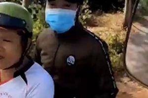 Kết quả xác minh về người 'lạ mặt' gây hấn khi nhà xe quay clip CSGT