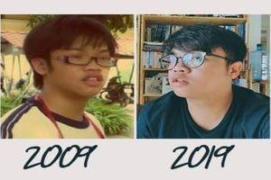 Thử thách 10 năm: Trào lưu khoe ảnh 'dậy thì thành công'