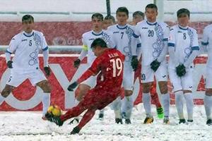 Quang Hải và bức tái họa 'cầu vồng trên tuyết'
