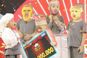 5 chú tiểu lập kỷ lục thắng 200 triệu đồng tại 'Thách thức danh hài'