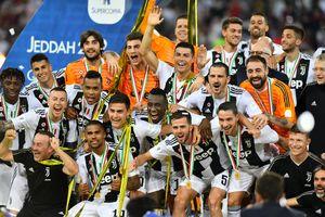 Ronaldo có danh hiệu đầu tiên cùng Juventus