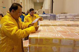 Giám sát chất lượng thực phẩm cung cấp cho siêu thị