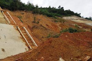 Cao tốc La Sơn - Túy Loan: Thiết kế lại taluy dương để chống sạt lở