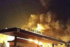 Đồng Nai: Cháy cây xăng, 2 nhân viên bị bỏng nặng