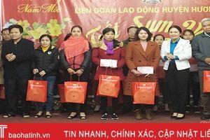'Tết sum vầy' ấm áp cho công nhân, lao động Hương Khê