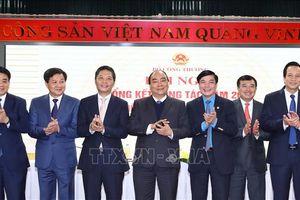 Thủ tướng Nguyễn Xuân Phúc dự hội nghị của ngành Công Thương