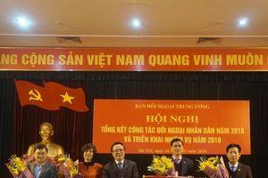 Hội Luật gia Việt Nam 3 năm liên tiếp được tặng cờ thi đua của ban đối ngoại trung ương